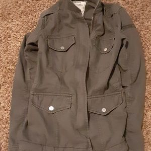 Abercrombie and Fitch cargo jacket